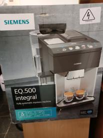 Eq.500 internal coffee macine