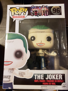 "Funko Pop Heroes Series #96 The Joker from ""Suicide Squad"""