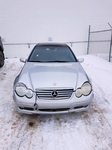 2003 Mercedes C230 Kompressor Coupe