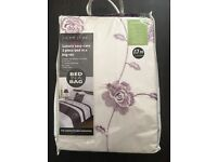 Double Duvet Cover with pillowcases, bed runner and cushion cover