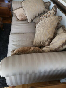 Leather Love Seat & Chair , Sofa , Coffee Tables, Wine Cabinet ,