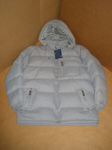 NEW!!!  BIG VALLEY Light Gray, Hooded Winter Coat, Size S London Ontario image 3