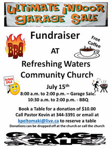 Ulitmate Garage Sale and BBQ