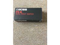 Boss F5-6 dual foot switch