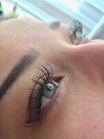 Promo pose d'extension cils 3D Volume 60$$ Laval- Mtl salon