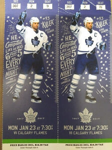 Toronto Maple Leaf's vs Calgary Flames - Hard Tickets
