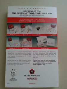 St. John's Ambulance First Aid Handbook London Ontario image 2