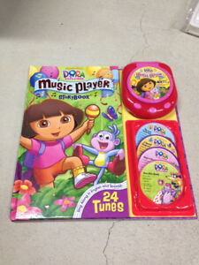 Dora story book with tunes