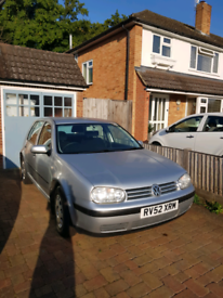 Only 1 owner from new Golf MK4