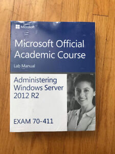 microsoft academic course lab manual Administering Windows