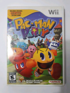 Pac  man party wii
