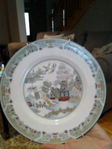 "Wedgwood China Salad Plate - ""Chinese Legend"""