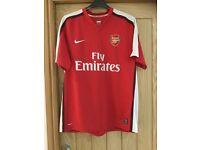 Arsenal home shirt XL with shorts XL