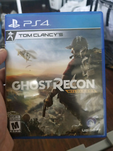 Ghost recon wildlands ps4 like new