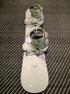 K2 Moment Snowboard and Bindings, Vans Boots