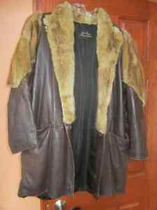 Genuine Leather and Fur Jacket Peterborough Peterborough Area image 2