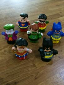 Little People Fisher-Price Superfriend Figures