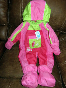 New with tags GUSTI fleece lined suit - size 12 months