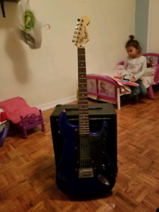 Electric Guitar and two amps.