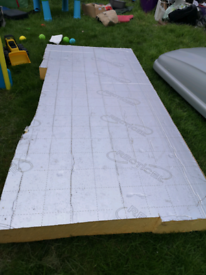 FREE: Recticel insulation, wall, roof etc 2m x 1m FREE