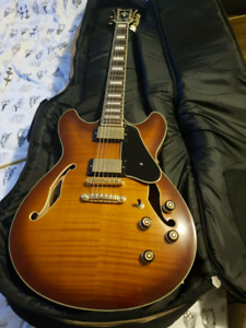 Ibanez as93 hollow body guitar