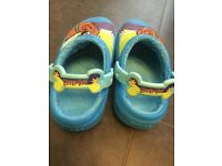 Scooby Doo crocs slippers size 12/13