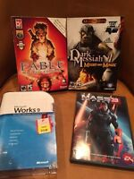 Pc games/software