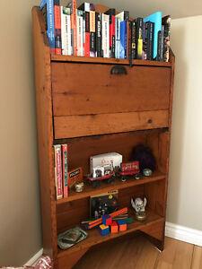 Antique Bookcase/Writing Desk