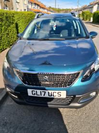 2017 Peugeot 2008. Full year mot