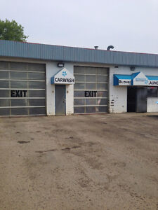 Car Wash and Laundromat For Sale
