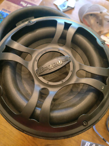 Bazooka Car or Truck Subwoofer BTA8100FHC