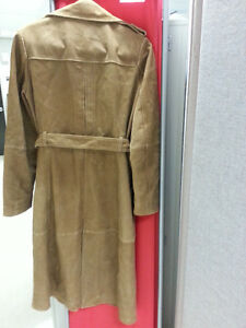 Beautiful real suede leather trench from Zara Gatineau Ottawa / Gatineau Area image 2