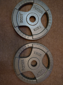 Olympic Weight Plates 15kg X 2