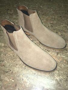 Chelsea boots (Tan)  size 10.5 Kitchener / Waterloo Kitchener Area image 4