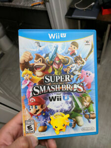 Super Smash Bros WII U GAME $30 firm