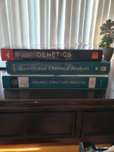 Brock CHEM and BIOL textbooks (2nd and 3rd year)