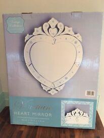 "Vintage Mirror ""Brand new in box"""