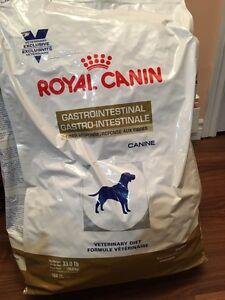 Fibre response dog food