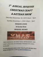 7th Annual Iroquois Christmas Craft