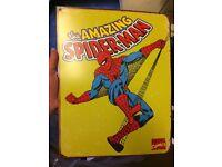 Enamel Original Marvel Amazing Spider-Man sign collectors item
