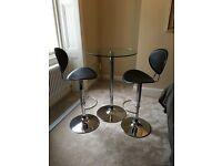 Bar stools & table (originally from John Lewis)