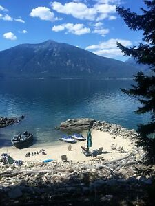 Kootenay Lake waterfront recreational property for sale