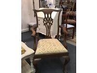 19th century mahogany wooden chair