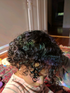 Hair Care for children with curly textured hair