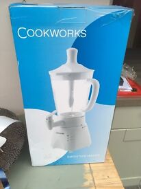 Cookworks smoothie maker BNIB