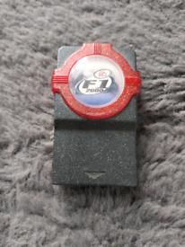 Rare ps1 EA sports f1 promo memory card