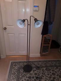 tall twin lamp lights