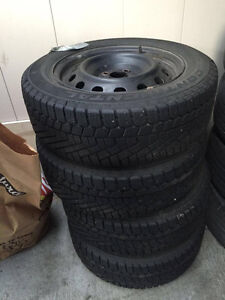 CONTINENTAL Winter Tires 195/60 R 15-92T