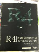 R4 card in box for Nintendo DS