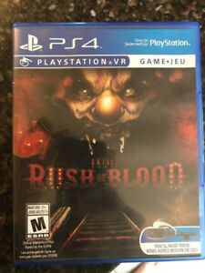 Rush of Blood - PSVR